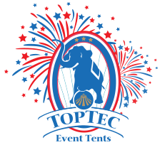 TopTec Event Tents Sticky Logo Retina