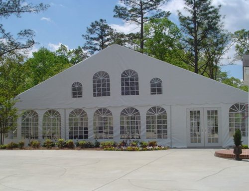 Event Tent Doors That Really Make an Entrance