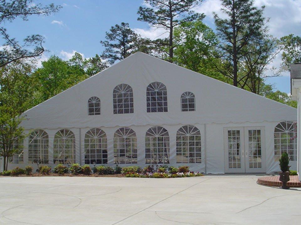 Beautiful Event Tent Doors