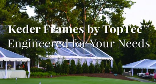 Keder Frames by TopTec Event Tents