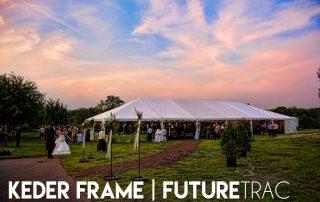 Keder Frame Event Tent Setup