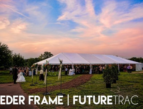 Easy Tent Setup with Keder Frames