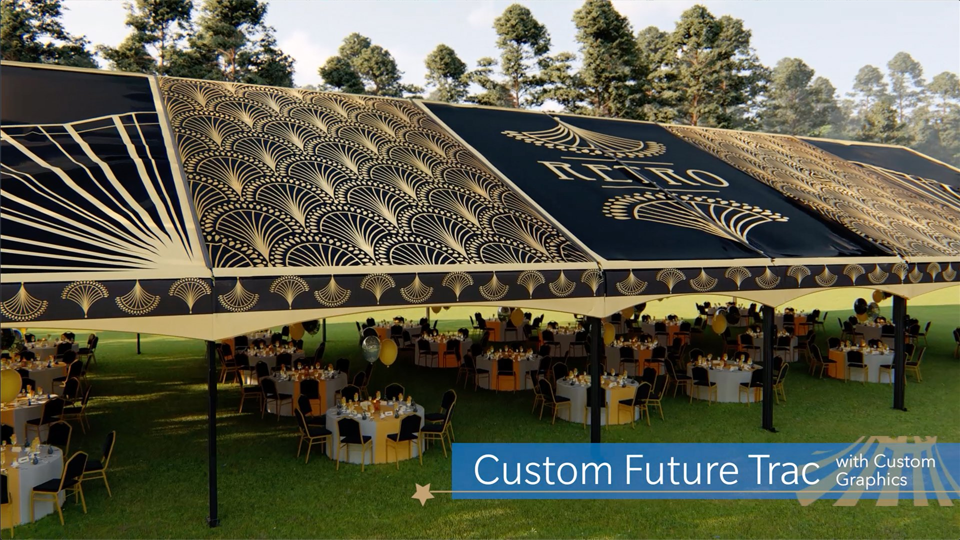 Custom Future Trac Event Tent