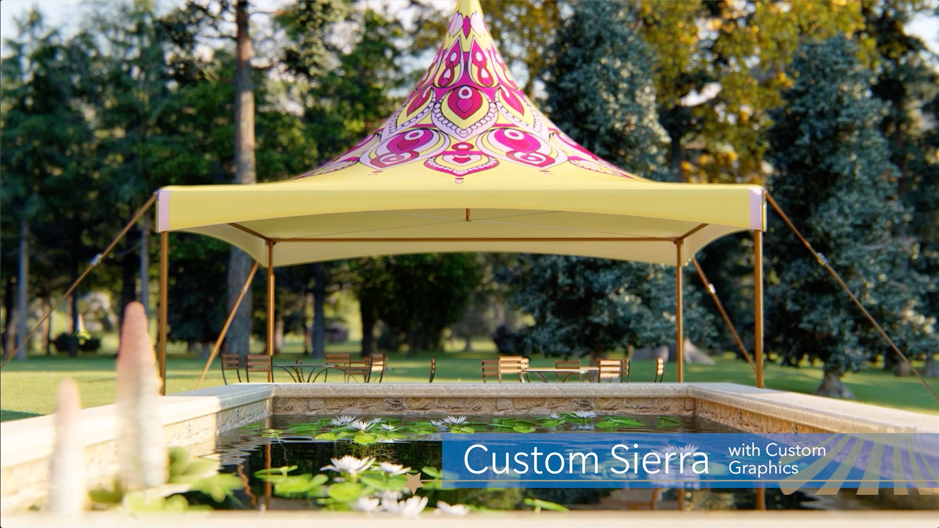 Custom Sierra Event Tent