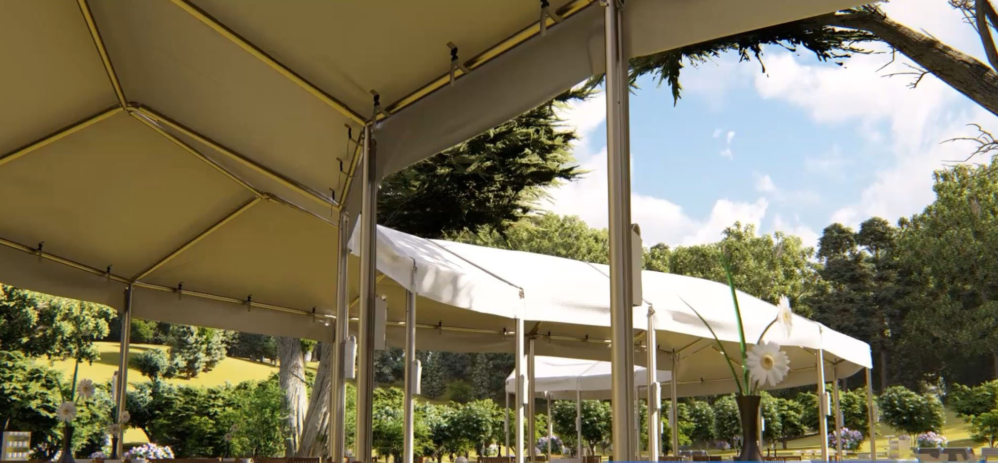 Serpentine Tent by TopTec