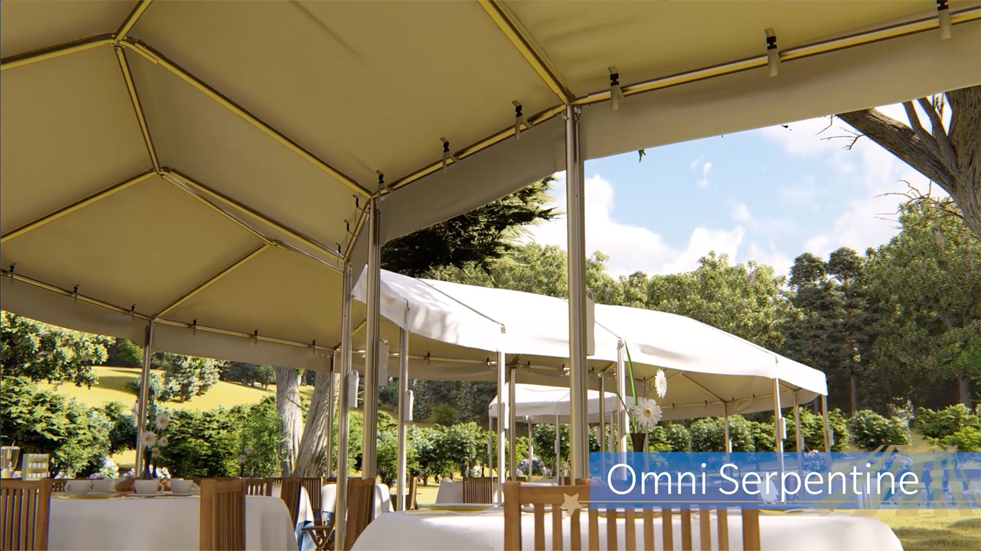 Custom Shaped Event Tents