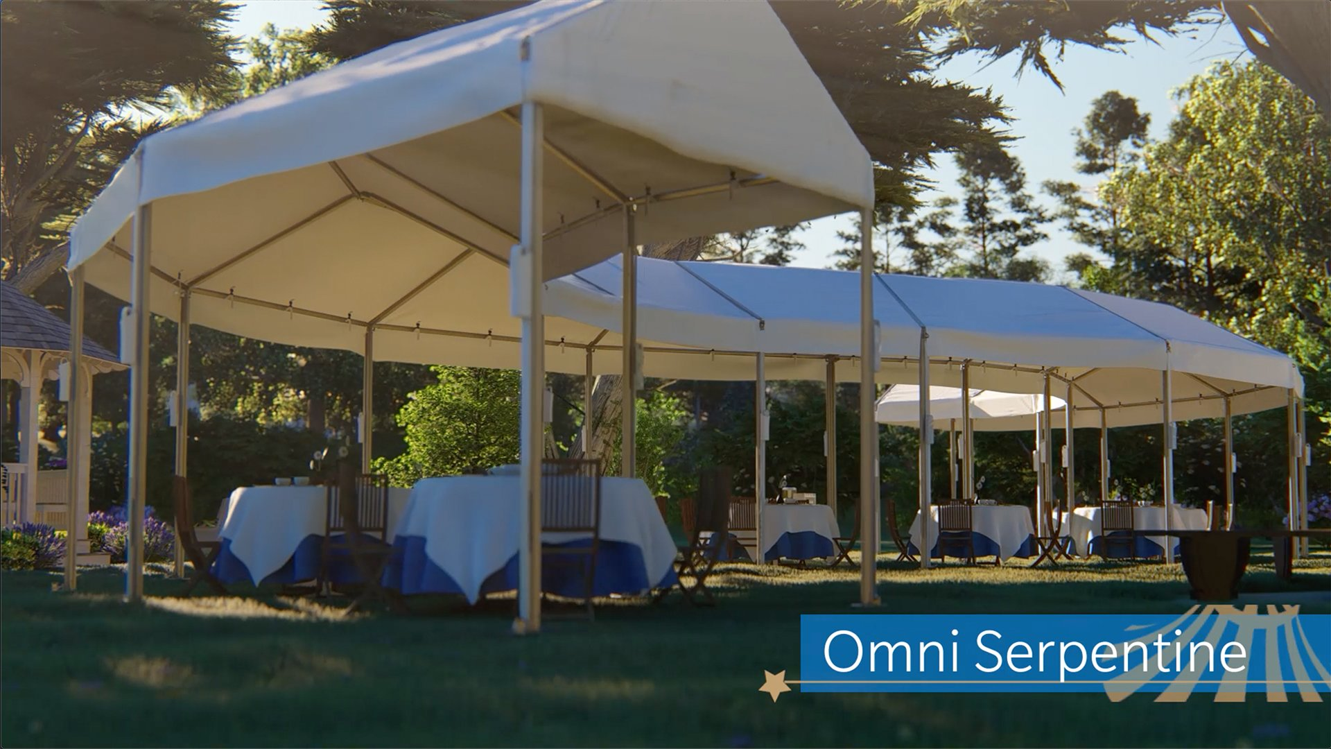 Omni Serpentine Custom Shaped Event Tent
